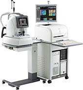 網膜光干渉断層計