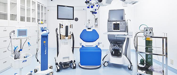 手術の指導と手術見学の受入れ