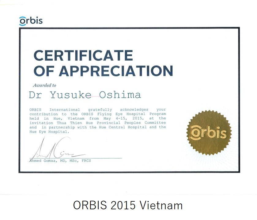 ORBIS 2015 Vietnam